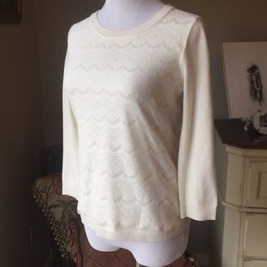 Lightweight lacy sweater